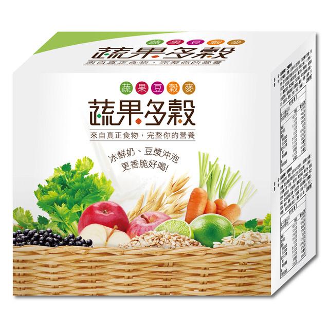 【蔬果多穀】澎湃分享盒 60入/盒(堅果/杏仁/芝麻)