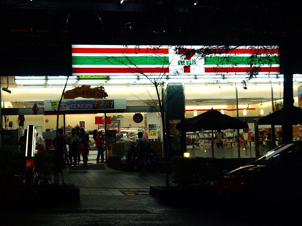 台灣的便利商店密度是全球之冠