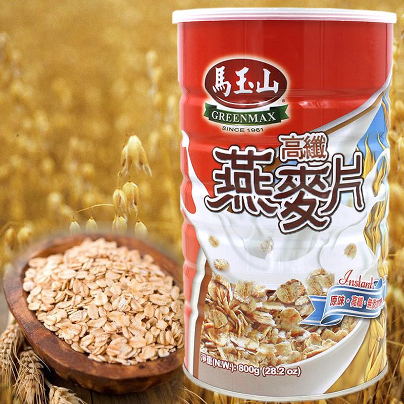 【馬玉山】高纖大燕麥片6罐口碑組