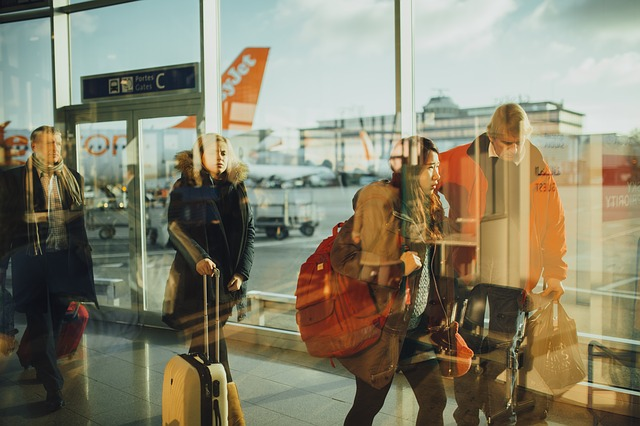 情侶旅行注意機場
