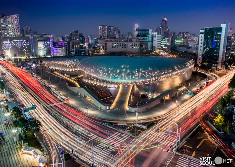 首爾免費景點DPP東大門時尚廣場