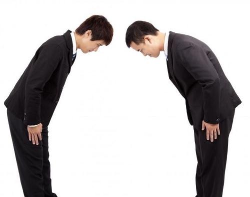 韓國禮儀鞠躬