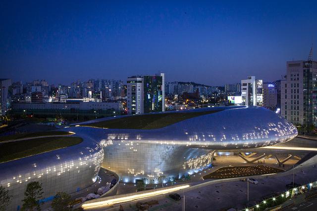 韓國自由行,東大門設計廣場