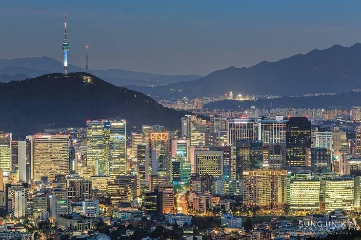 韓國自由行,北岳八角亭