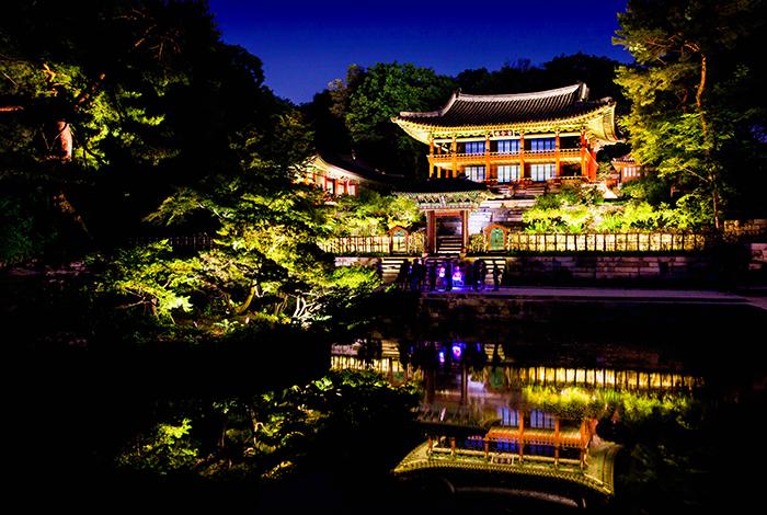 韓國自由行,夜遊昌德宮