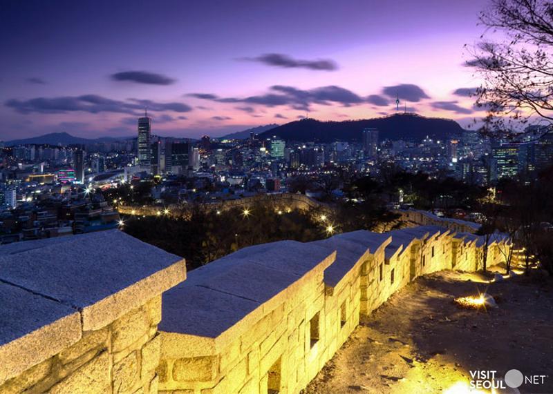 韓國自由行,駱山公園