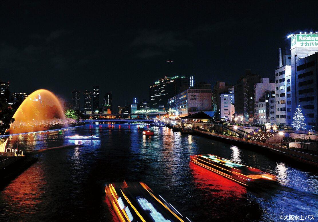 大阪水上巴士天滿橋絕景觀光船