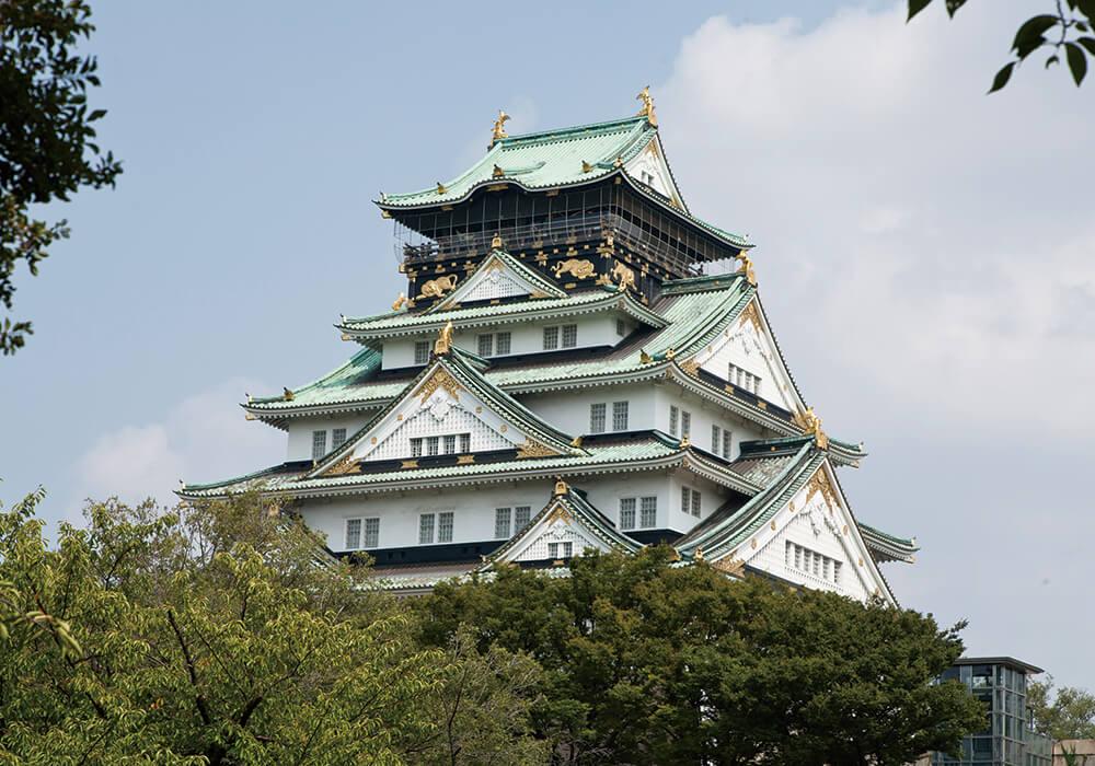 大阪城公園:天守閣