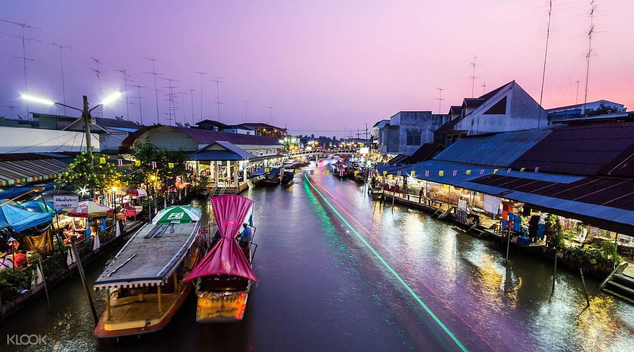 曼谷水上市場一日遊 (Oriental Holiday)