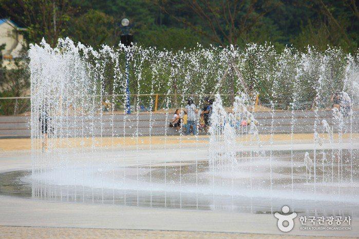 多大浦夢幻夕陽噴泉