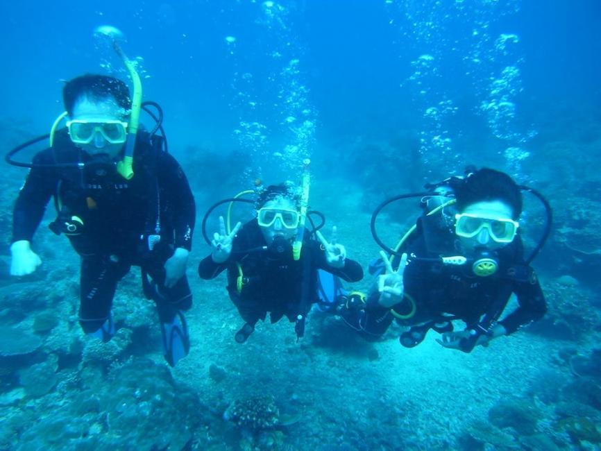 長灘島體驗潛水