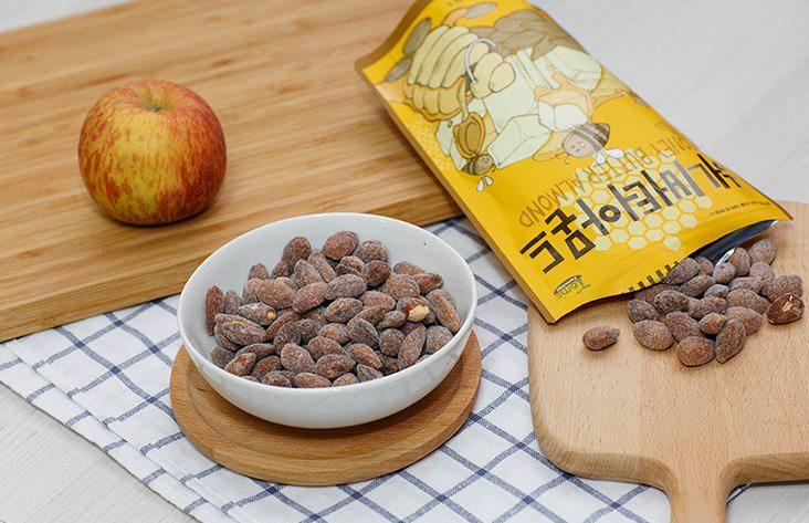 韓國 Toms Gilim 蜂蜜奶油杏仁果