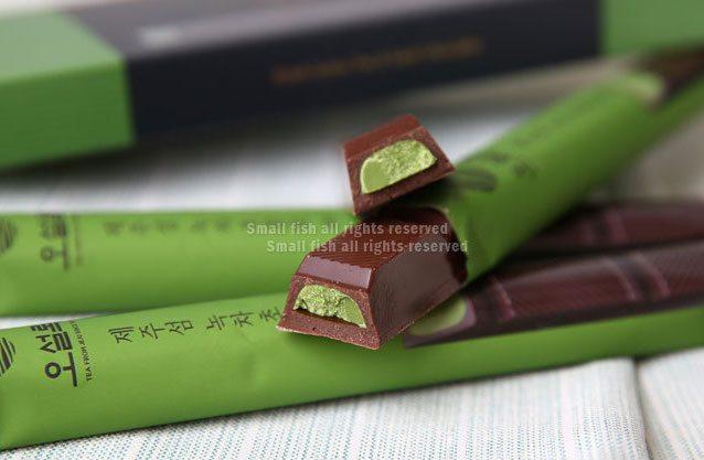 韓國 OSULLOC 抹茶巧克力條