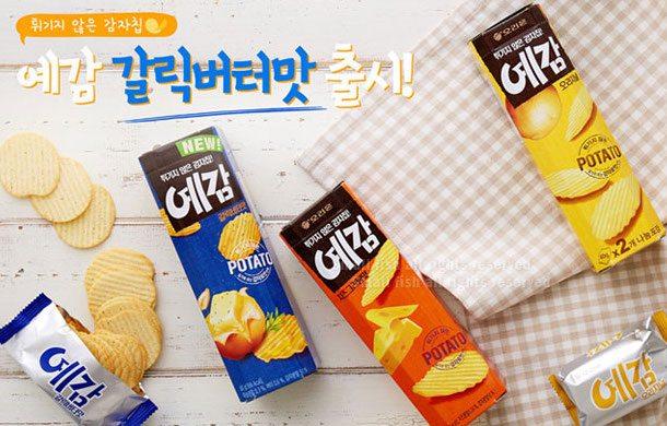 韓國 ORION好麗友烘焙洋芋片