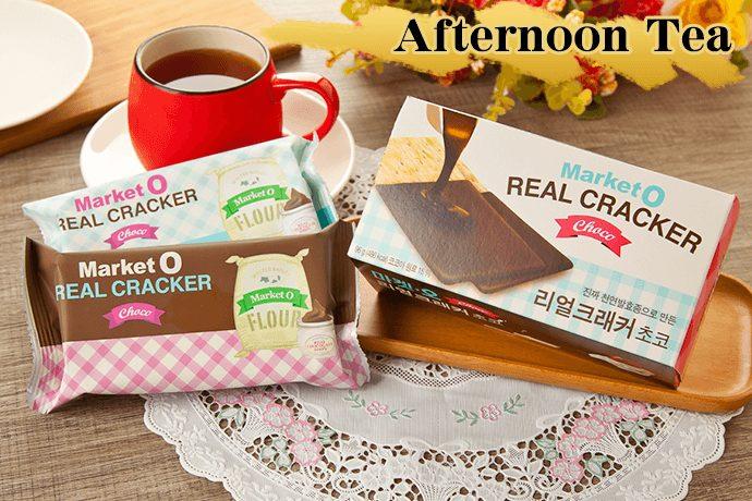 Market O 巧克力蘇打餅