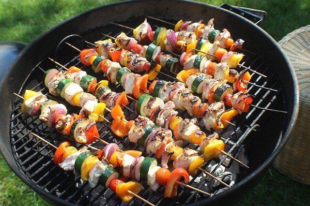 中秋節烤肉 串燒