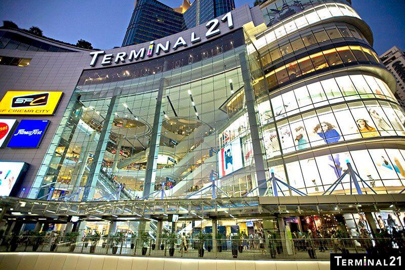 曼谷航站21百貨 Terminal 21,