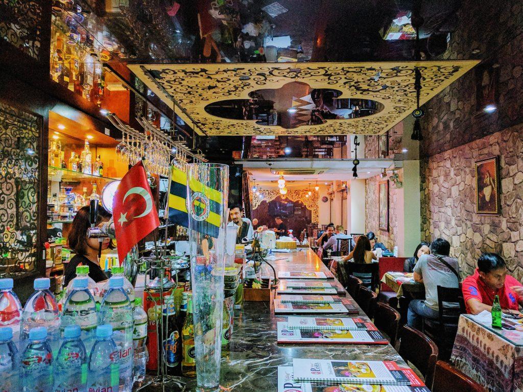 土耳其餐廳不提供免費白開水