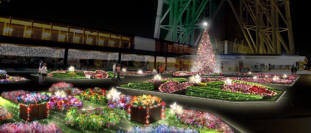 東京晴空塔 Tokyo Skytreetown Dream Christmas 2017