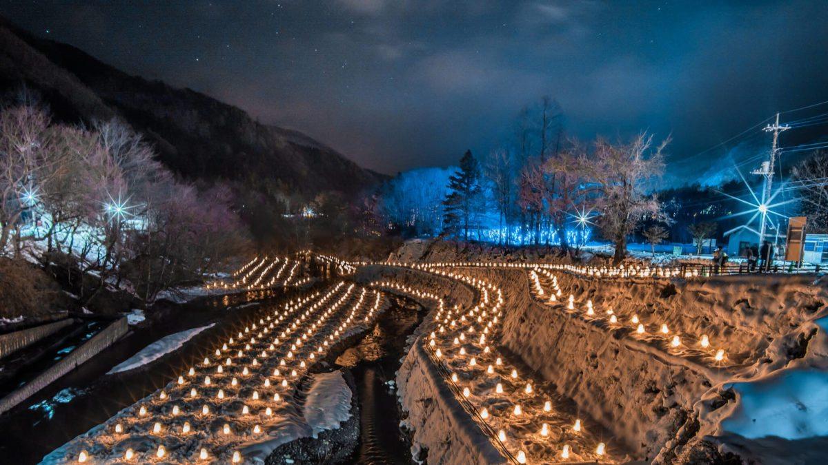 日本夜景遺產認定!栃木縣「湯西川溫泉雪洞祭」