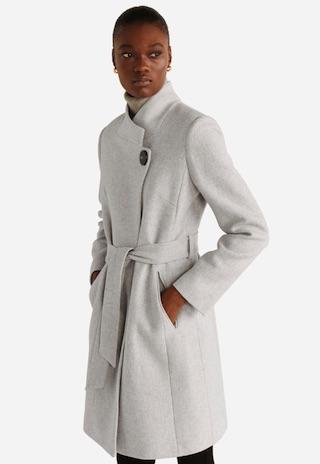 mango羊毛大衣