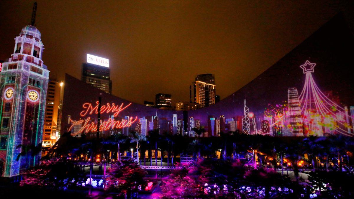 想出國過耶誕又不想跑太遠?就到香港過節吧!