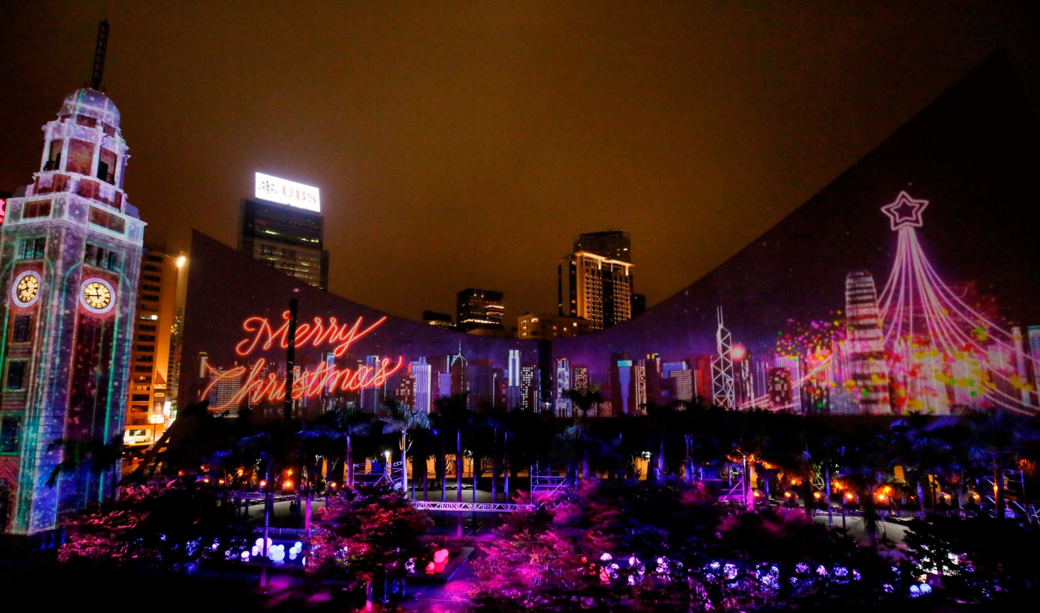 香港聖誕節