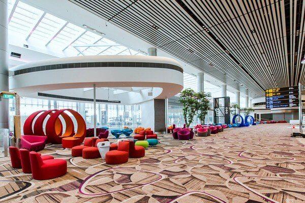 樟宜機場第四航厦休息區