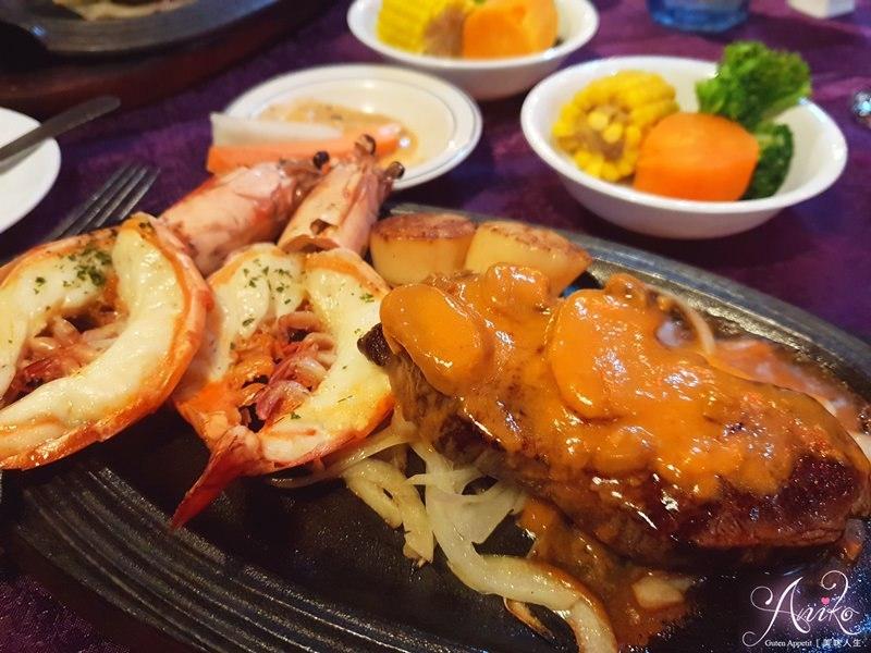 牛排&蝦子