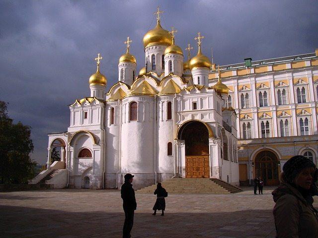 莫斯科景點天使報喜教堂