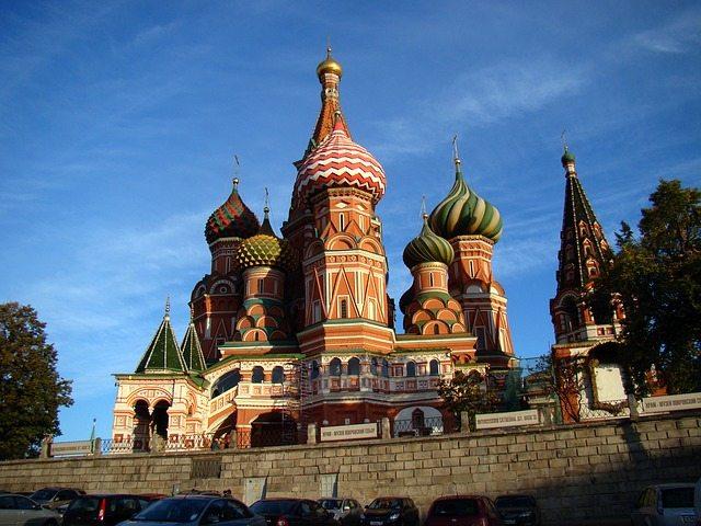 莫斯科景點聖瓦西里教堂