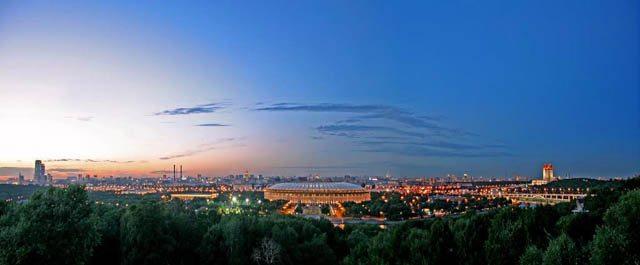 莫斯科景點麻雀山
