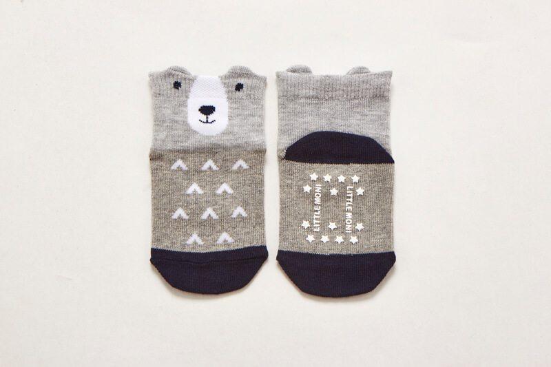Littlw-Moni北歐熊熊短襪