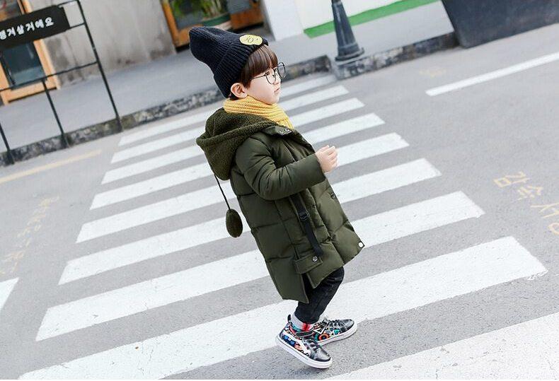 男童羽絨外套