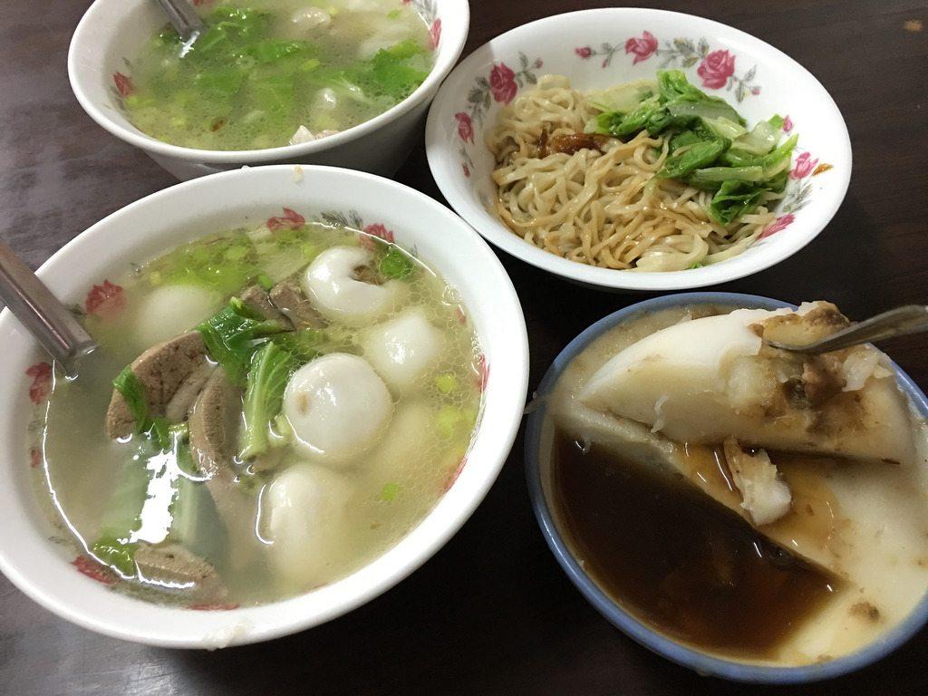 燕山豬肝湯圓