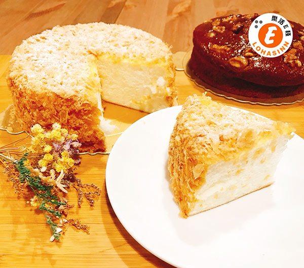 雪白戀人蛋白蛋糕