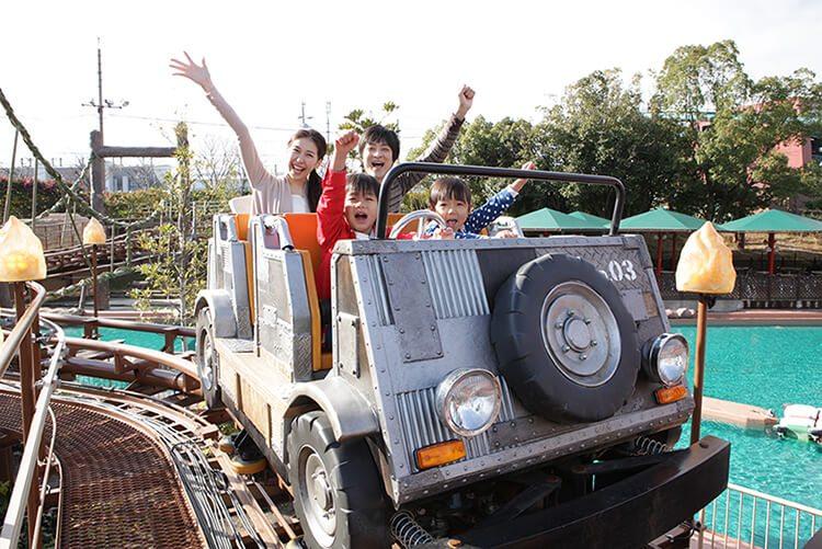 日本鈴鹿賽車場打造適合全家大小遊樂設施