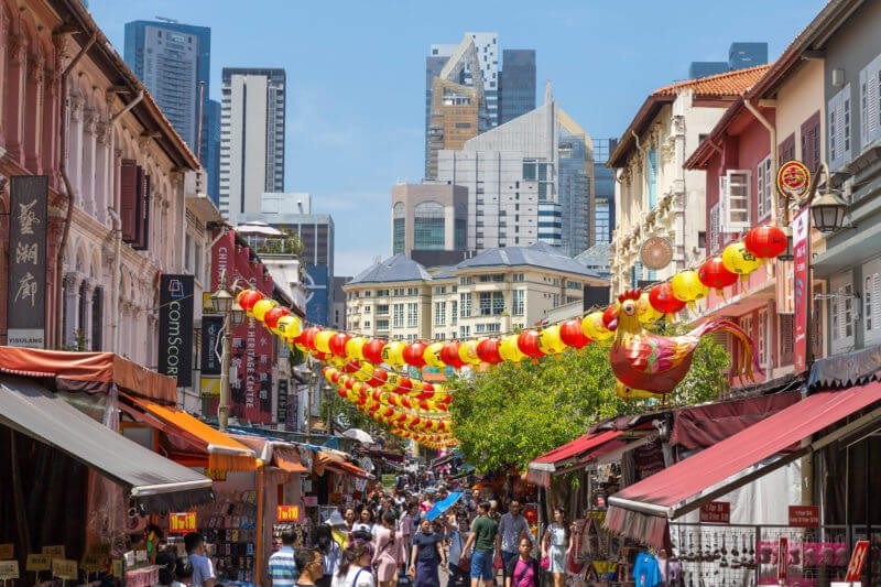 牛車水夜市Chinatown Street Market