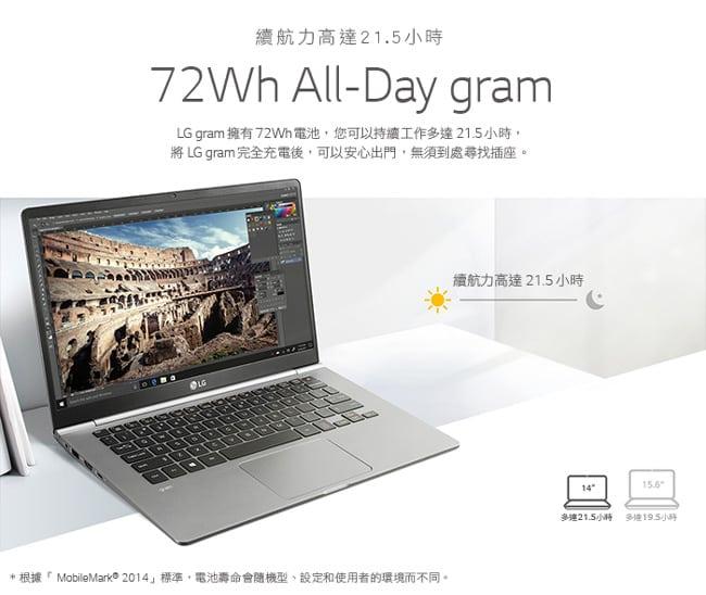 LG樂金 Gram 14吋 14Z980 PRO 極緻輕薄筆電