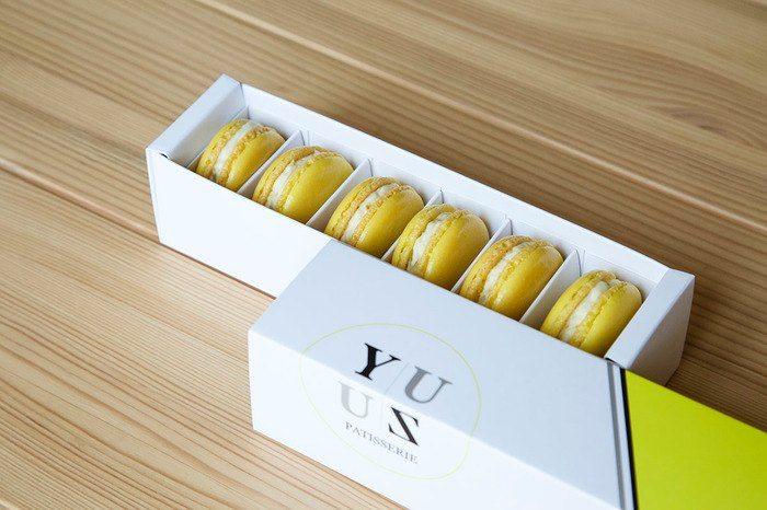 YUZU減糖檸檬馬卡龍
