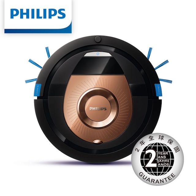 PHILIPS飛利浦6公分超薄智能掃地機器人 FC8776