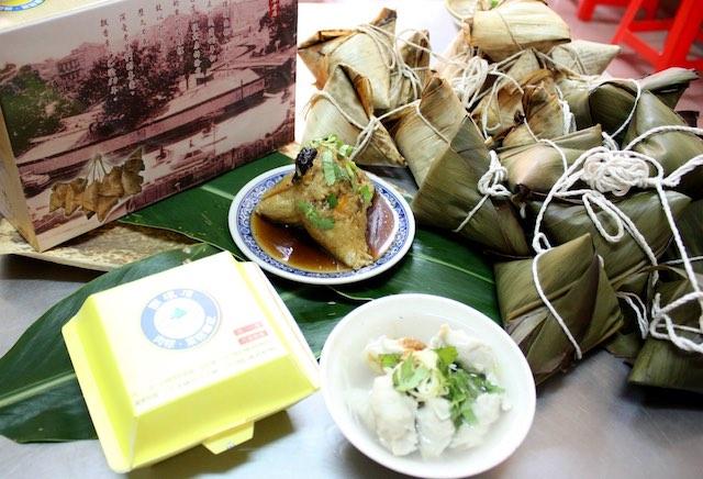 圓環頂菜粽肉粽
