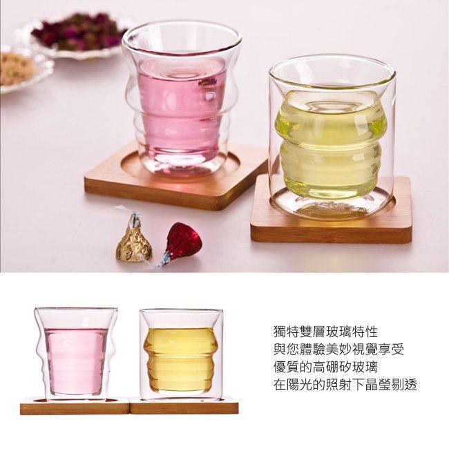 耐熱情侶玻璃杯