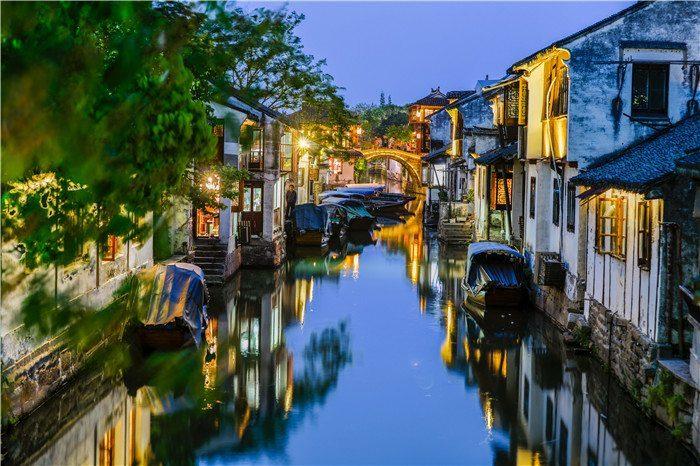 中国江南好风光 苏州周庄古镇一日游,交通 票价 旅游图片