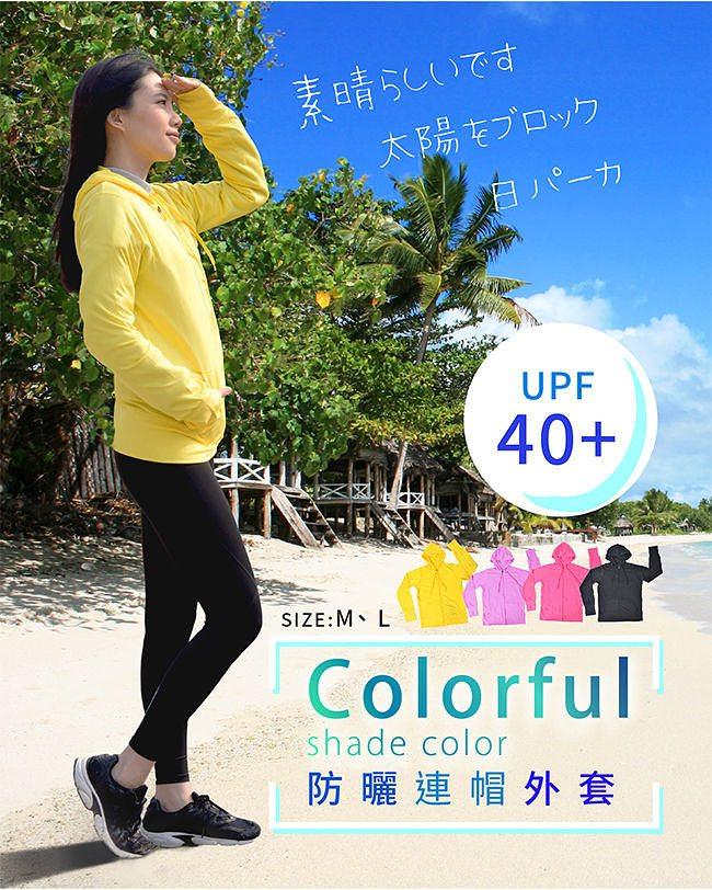 COLORFULl 抗UV吸排涼感連帽外套