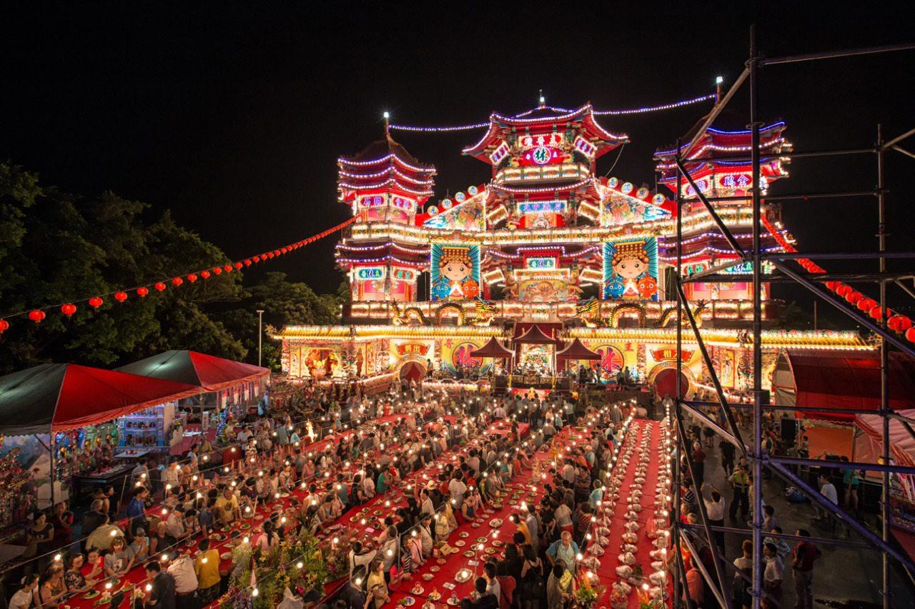 基隆中元祭精彩活動,放水燈、跳鍾馗...特色祭典這樣逛最道地