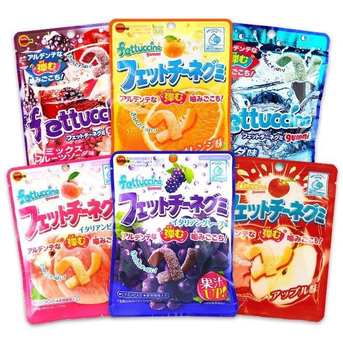 日本 Bourbon 北日本 Fettuccine 長條軟糖(50g)
