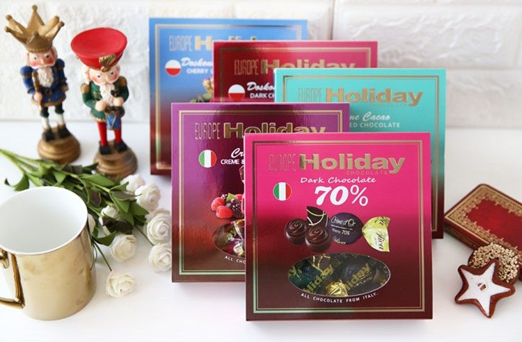 歐洲假期 巧克力禮盒(110g)