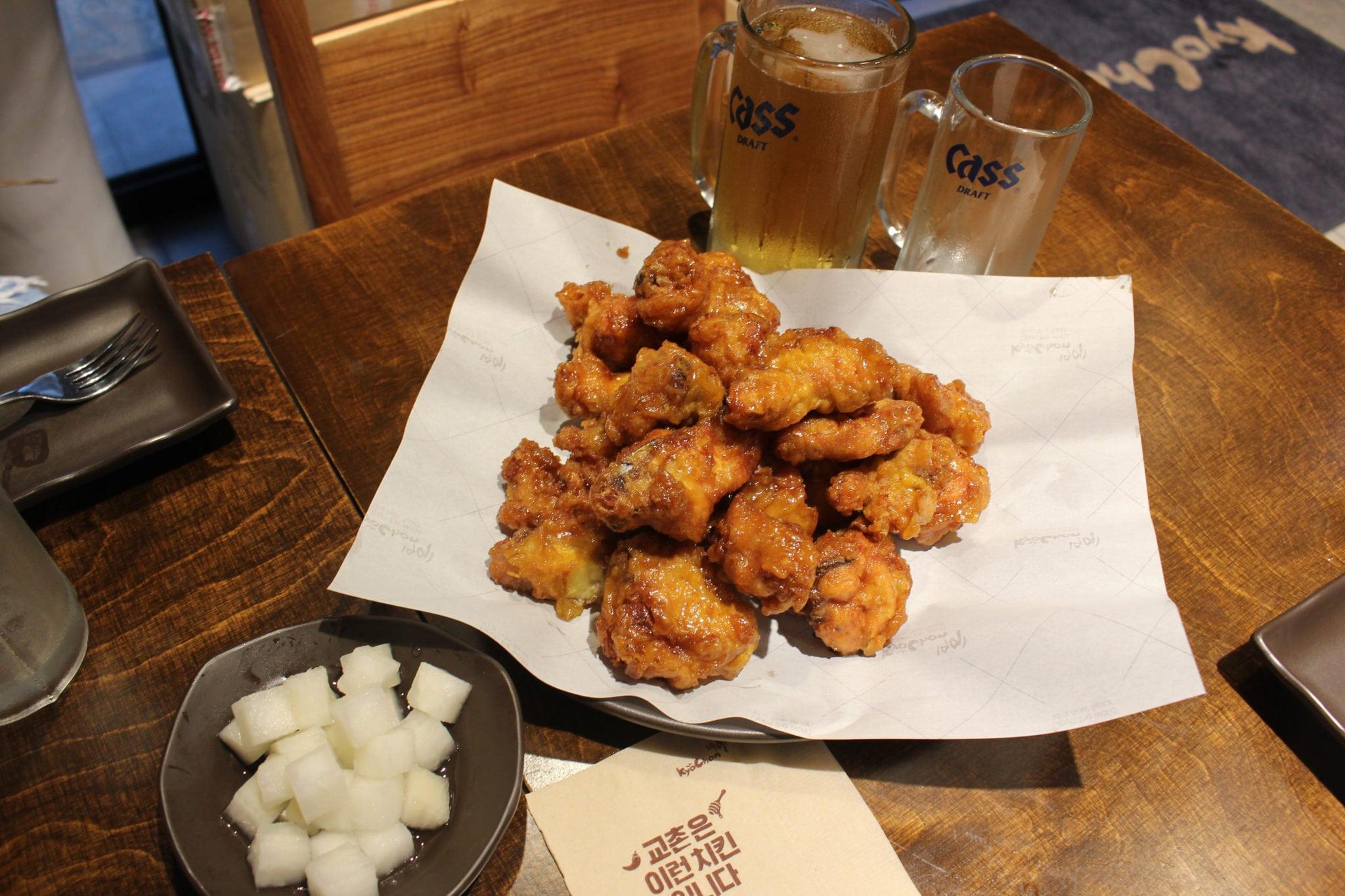 弘大美食橋村炸雞