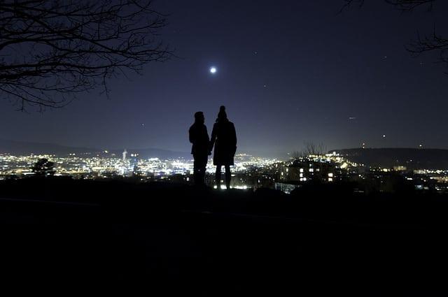 中秋節賞月